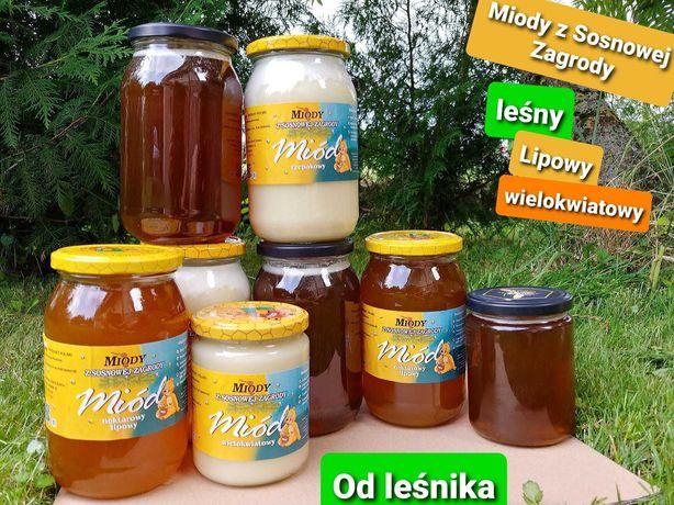 Miód pszczeli ekologiczny z własnej pasieki