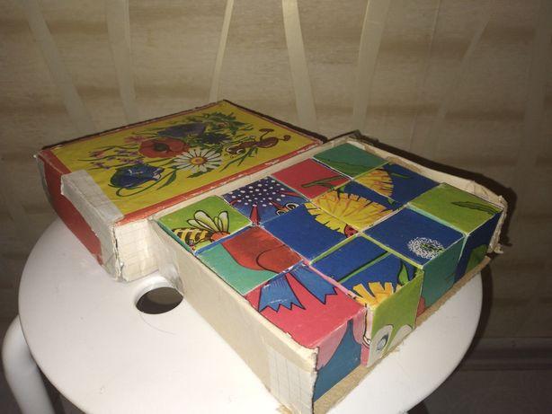 Продам кубики СССР Винтаж.Игрушки