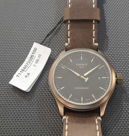 Zegarek Tissot Swissmatic T116.407.36.051.00