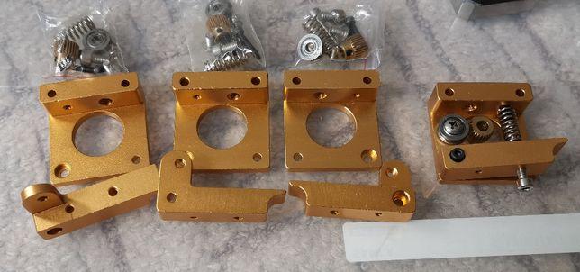 Extruder aluminiowy drukarka 3D zestaw