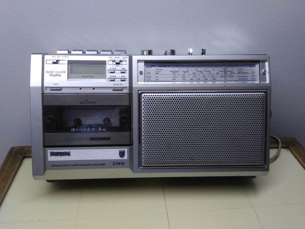 radio magnetofon philips d1419