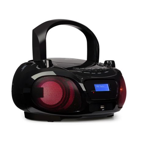Auna Roadie DAB Odtwarzacz CD DAB/DAB+ UKF LED Bluetooth czarne
