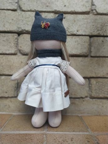 Кукла ручной работы, интерьерная