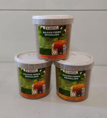 Sulfato ferro granulado 1,200kg