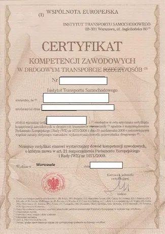 Użyczenie certyfikatu
