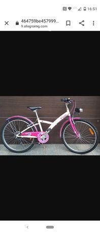 Rower 24 cale dla dziewczynki