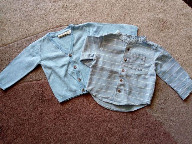 Koszula i sweterek 62/68