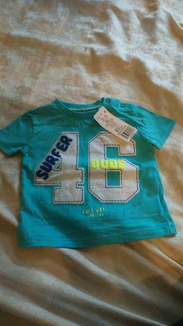 T-shirt chłopiecy Nowy F&F rozm 86