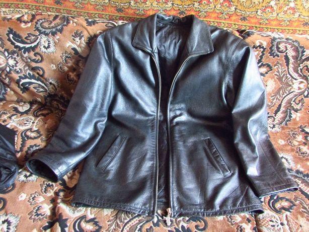 Куртка мужская кожа зимняя/демисезонная