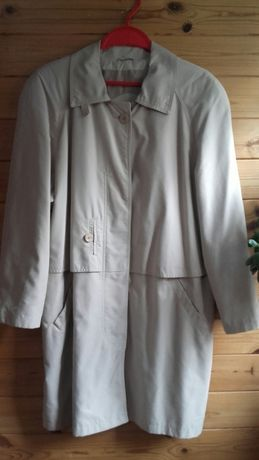 Beżowy płaszcz parka kurtka XXL 46