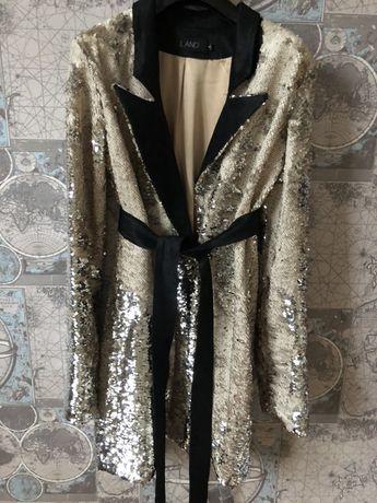 Пиджак-платье паетки мега стильное 1590 грн