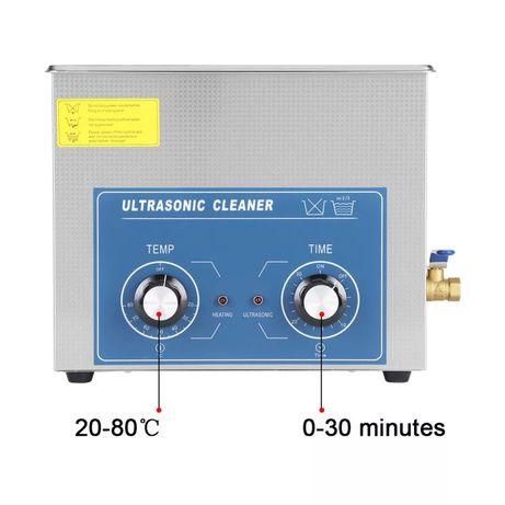 6L Myjka Ultradźwiękowa kranik , podgrzewanie, timer