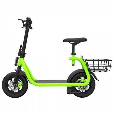 Hulajnoga elektryczna e-pojazd z siodełkiem 25km/h