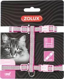 Zolux Szelki Shiny dla kota - różowe