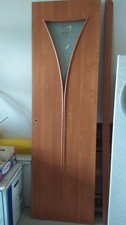 Межкомнатные двери МДФ со стеклом, 600 и 700 мм.