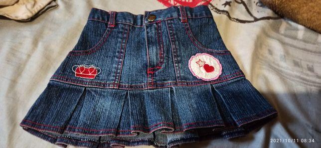 Юбка джинсовая 150 руб.