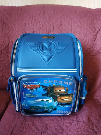 Рюкзак ортопедический каркасный 1 вересня Тачки Cars Disney