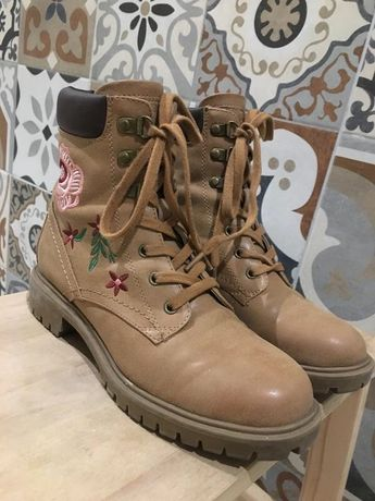 Ботинки guess сапоги сапожки гесс оригинал кожаные
