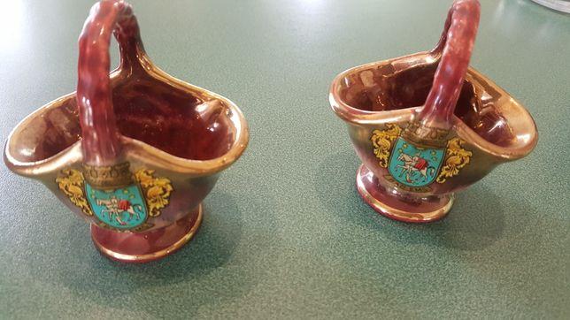 2 sztuki porcelany niemieckiej