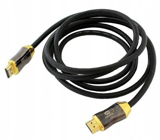Profesjonalny kabel HDMI 2.1 UHD 8K 4K/120Hz 3D 2m ** Wejherowo