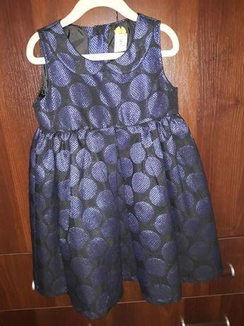 śliczna sukienka na uroczystości, święta reserved 5-6 lat
