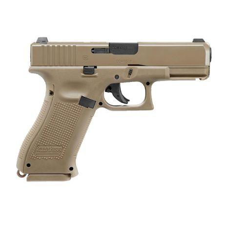 Pistolet wiatrówka Glock 19X 4,5 mm coyote BB CO2 + 1500AMO +5x co2