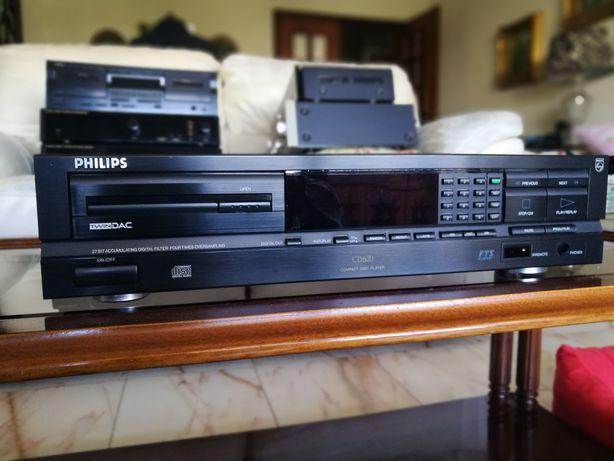 Philips CD 620 Leitor de CDs