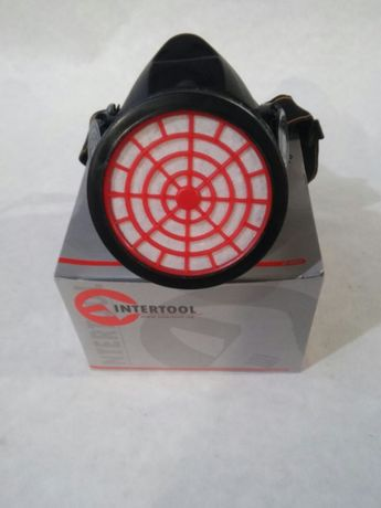 Респиратор с одним картриджем INTERTOOL SP-0027