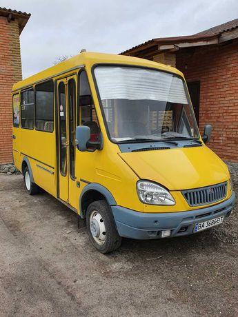 Баз 2215 маршрутка газель дельфин автобус 2007