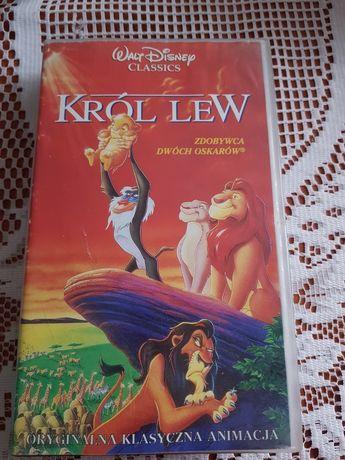 Król lew kaseta vhs