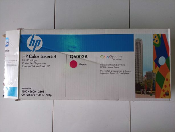 HP Toner Q6003A Magenta (novo/ selado)
