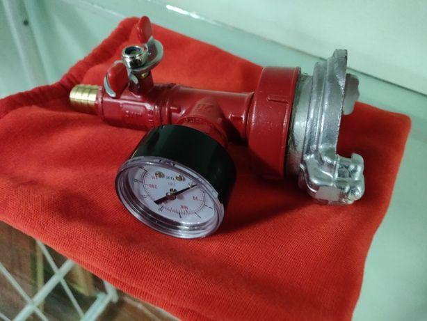 Устройство для проверки внутренних пожарных водопроводов (гидротестер)