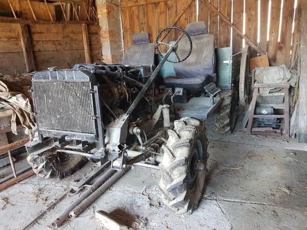Traktorek buggy Diesel Uaz oś, reduktor, skrzynia. Silnik peugeot 1.5