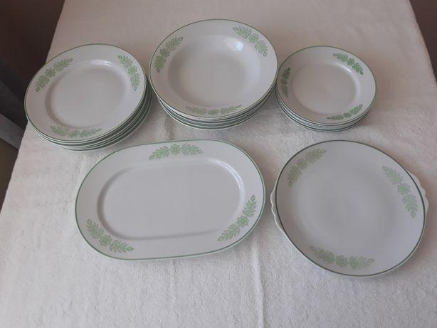 Serwis obiadowy porcelana Włocławek na 6 osób