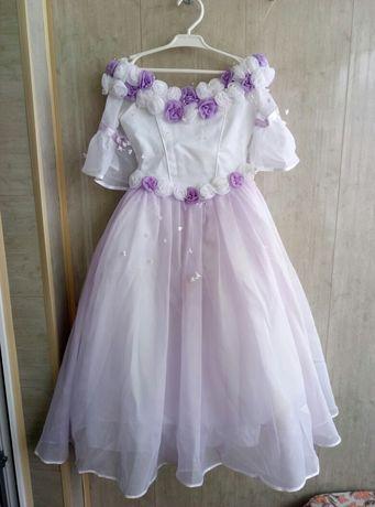 Шикарное детское вечернее платье