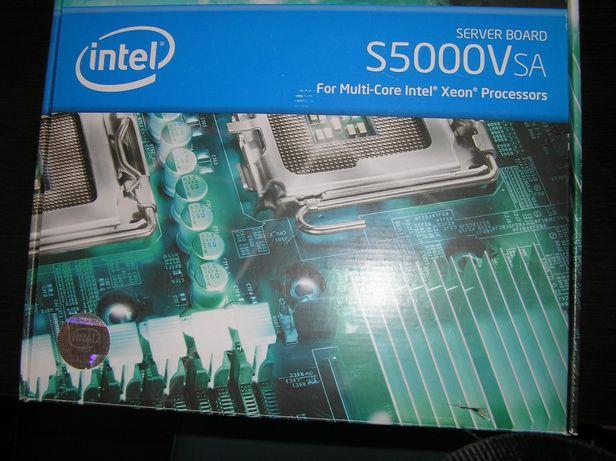 Płyta główna Intel Server Board S5000VSA oraz 2 x Intel Xeon