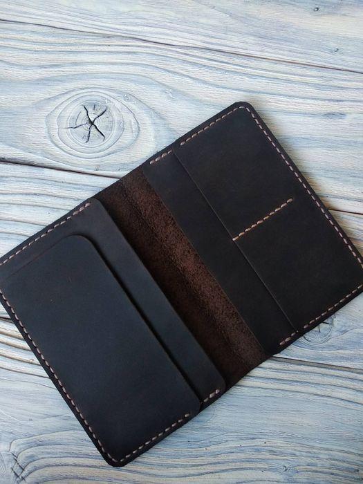 Чехол на паспорт, документница из натуральной кожи Запорожье - изображение 1