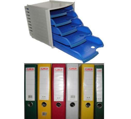 Папка офисная регистратор для файлов Офисная этажерка пластиковая