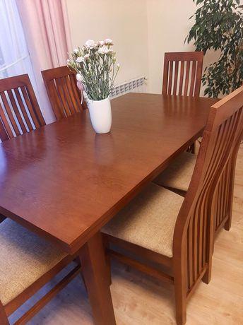 Rozkładany stół z 8 krzesłami