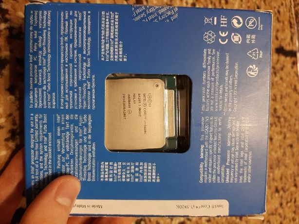 Процессор Intel Core i7-5820K 3.3GHz/5GT/s/15MB s2011-3 BOX