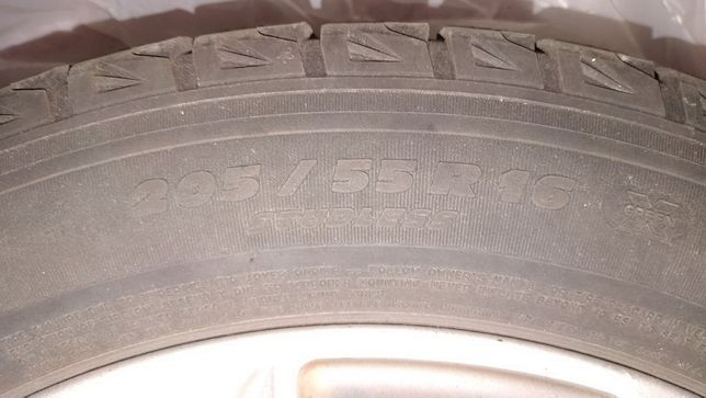 Шины Б/У зима MICHELIN X-ICE 205/55 R16