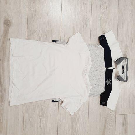 Bluzka na krótki rękaw 122cm