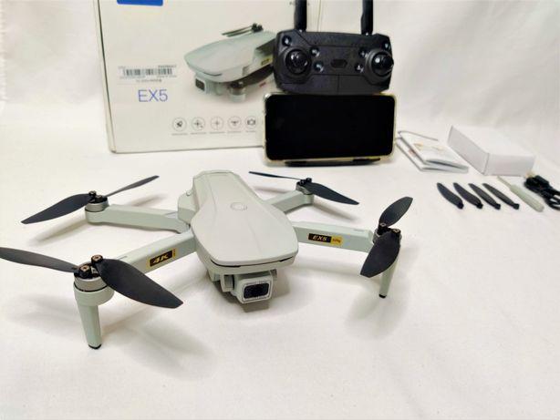 [NOVO] Drone EX5 GPS 4K [1 KM] - [30 Minutos] 5.8 GHz - Follow Me