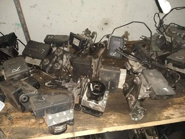 Блок ABS T5 Транспортер Каравелла Мультиван 2003-2009