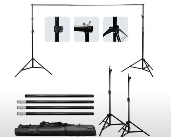 Фотофон для съёмки,ворота 2×3м в чехле