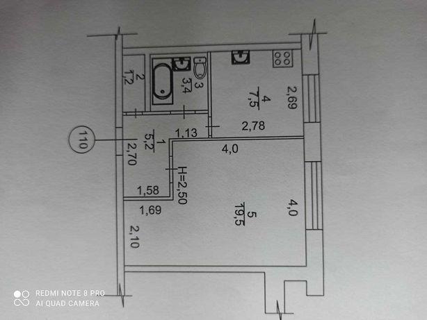 Продам 1-комнатную квартиру, пр. Ак. Курчатова, 28, Пятихатки