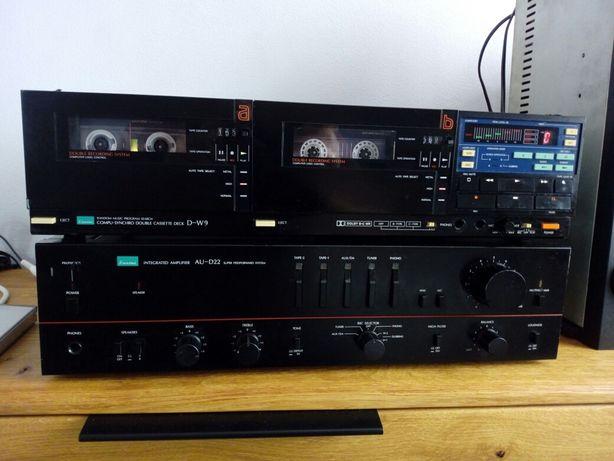 Magnetofon Sansui D-W9 ,Sony.,Denon,Aristona,Technics M205,