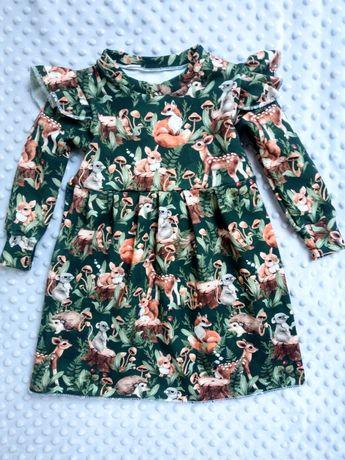 Handmade sukienki, 50-98 cm