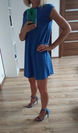 Niebieska sukienka Mohito rozm 36