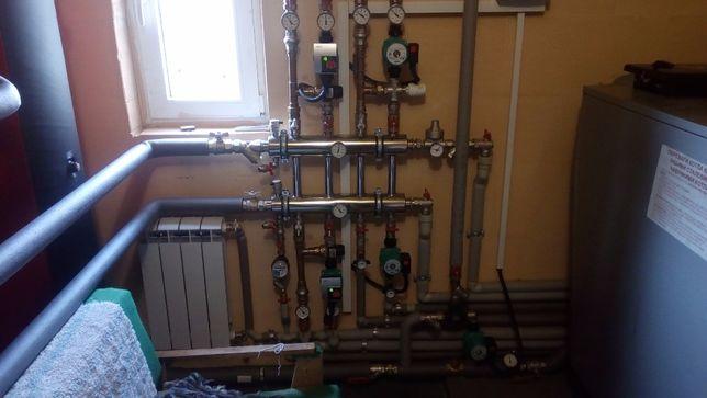 проектирование,монтаж систем отопления,водоснабжения,канализации,вент.